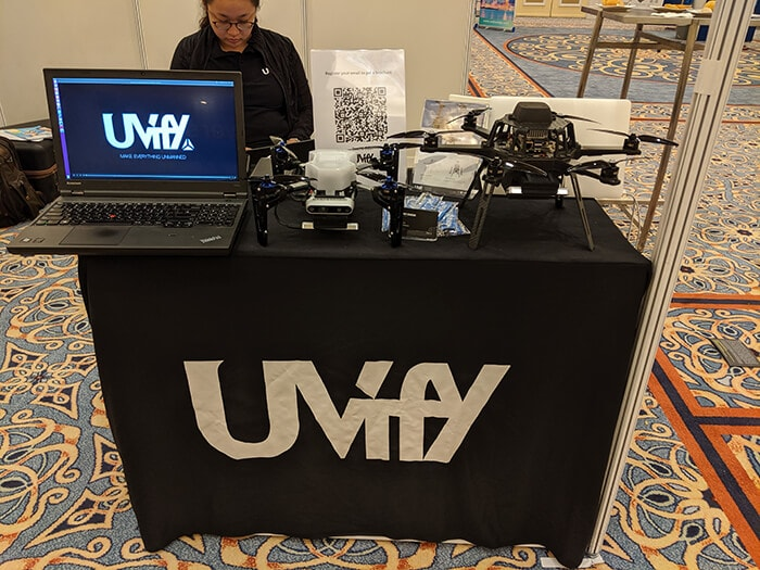 Uvify research drones