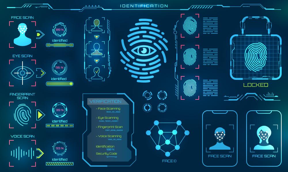 Some types of biometric identification