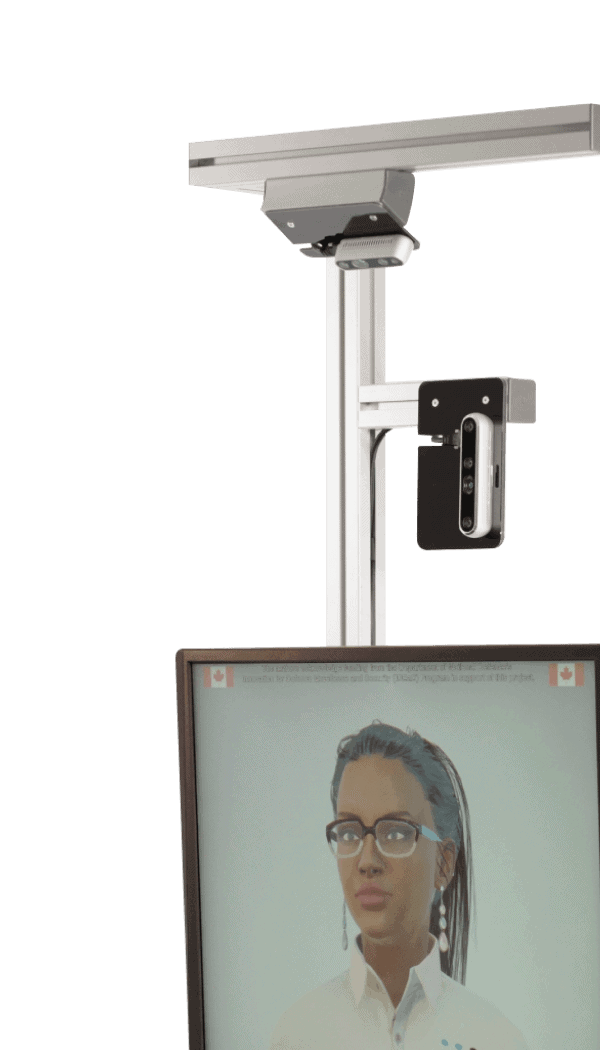 Meet AVA™ — a secure, touchless, self-service screening and protocol assistant developed by CloudConstable.